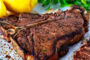 Porterhouse Florentine Steak Recipe